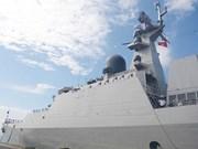 越南海军首次派军舰参加兰卡威国际海事与航空航天展