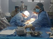 越南心脏内全胸腔手术受世界科学家和医生的好评