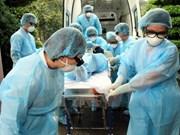 越南谅山省举行人感染禽流感应急处置演练