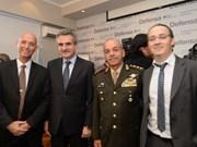 越南国防部长吴春历会见以色列军工企业代表团