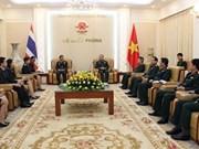 越南与泰国加强防务合作