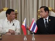 泰菲领导人承诺致力于推动完成《东海行为准则》框架