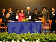 越以两国企业合作开展高科技保健与医疗联合体项目