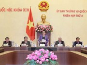 越南第十四届国会常务委员会第八次会议圆满完成各项议程