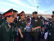 越南和马来西亚加强防务合作