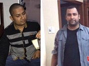 胡志明市公安机关逮捕抢劫财产的两名外国人