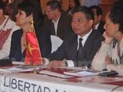 """越南代表出席在墨西哥举行的""""政党与新社会""""国际研讨会"""