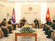 越南全力以赴维护和发展同柬埔寨政府和人民的睦邻友好与全面合作关系