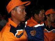 """海防驶往芹苴的""""海城 26-BLC""""号船被撞沉两名船员获救"""