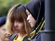朝鲜男子在马来西亚死亡案:越南驻马大使馆和律师与段氏香公民会面