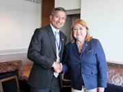 促进东盟与南方共同市场的对话与合作