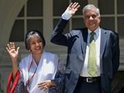 斯里兰卡总理和夫人即将对越南进行正式访问