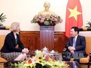 政府副总理兼外长范平明会见新西兰驻越大使