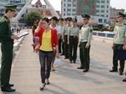 越南河江省加大越中边界线人口贩卖预防与打击工作力度