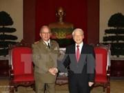古巴革命武装力量部部长高度评价访越结果