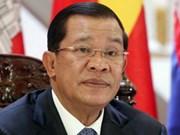 柬埔寨首相洪森呼吁全民携手维护和平