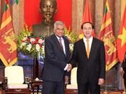 国家主席陈大光会见斯里兰卡总理拉尼尔·维克勒马辛哈