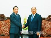 越南政府总理阮春福会见蒙古国驻越大使