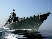 俄罗斯两艘军舰访问菲律宾