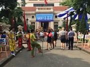2017年越南图书节吸引众多读者前来参观