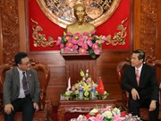 越南前江省与日本加强合作关系