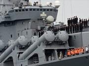 俄罗斯海军太平洋舰队访问庆和省金兰国际港口