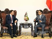 政府副总理武德儋会见中国科学院院长白春礼