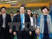 韩国国会议长丁世均圆满结束对越进行的正式访问