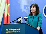 外交部发言人黎氏秋姮:越南坚决反对侵犯越南主权的活动