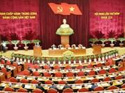 越共第十二届中央委员会第五次全体会议进入第二个工作日