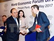 2017世界经济论坛东盟峰会在柬落幕 阮春福出席并发言