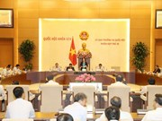 越南第十四届国会常委会第十次会议重点讨论多项重要内容