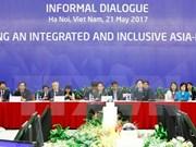 致力建设一个互联互通及包容性的亚太地区