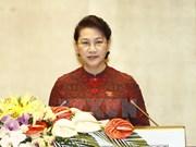 第十四届国会第三次会议:国会主席阮氏金银致开幕辞