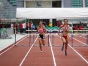 2017年亚洲青少年田径锦标赛:黎氏鸿欣摘银