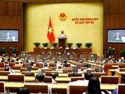 越南第十四届国会第三次会议发表第六号公报