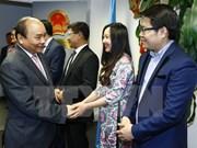 国际舆论对越南政府总理阮春福访美作出积极评价