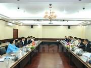 越南与老挝举行第二次政治磋商