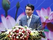 河内市人民委员会主席会见越南驻外代表机构首席代表