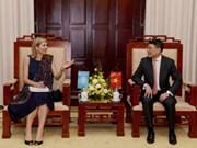 越南国家银行行长与荷兰王后就普惠金融问题展开讨论