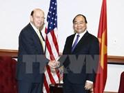 越南政府总理阮春福会见美国商务部部长罗斯
