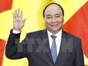 """越南政府总理阮春福启程访问日本和出席第23届""""亚洲未来""""国际会议"""
