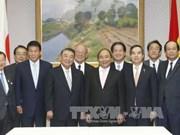 阮春福总理会见日本众议院议长大岛理森