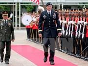 美泰两国司令讨论军事合作问题