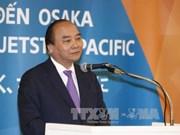 阮春福总理出席越南两家航空公司飞往日本大阪航线开通仪式