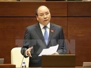 越南政府总理将在质询会上发言并回答质询