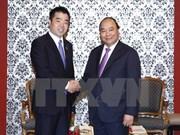 越南政府总理阮春福访问日本大阪府