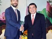 胡志明市与捷克推进多领域合作