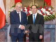 旅捷越南人对捷克总统米洛什•泽曼访越之旅充满期望