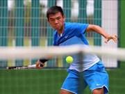李黄南参加2017年泰国男网F2未来赛
